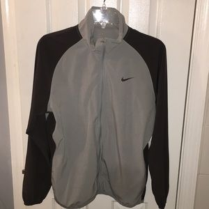Nike zip-up dry fit